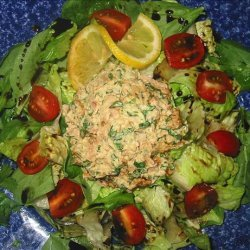 South Beach Style Tuna Salad With Low Fat Cilantro Mayo recipe