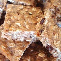 Chewy Oatmeal Bars recipe