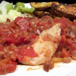 Baked Fish with Tomatoes recipe