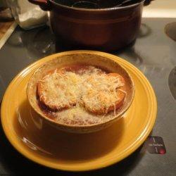 Authentic French Onion Soup Courtesy of Julia Child recipe