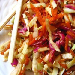 Spicy Asian Coleslaw recipe