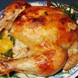 Roasted Chicken  A'la Orange recipe