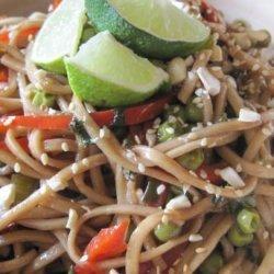 Spicy Thai Noodle Salad recipe