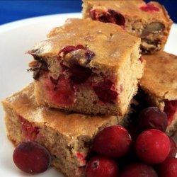 Light Cranberry Bars recipe