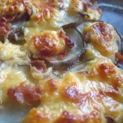 Cheesy Scalloped Potatoes recipe