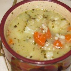 Barley & Potato Soup recipe