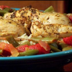 Middle Eastern Green Beans and Tomatoes recipe