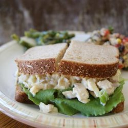 Crunchy Chicken Apple Salad Sandwiches recipe