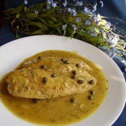 Honey Dijon Chicken with Capers recipe