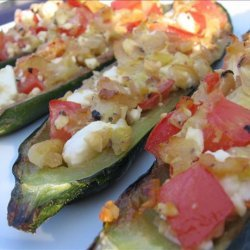 Stuffed Zucchini Just Like Martha recipe