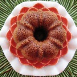 Little Vanilla Pound Cake for 2 recipe