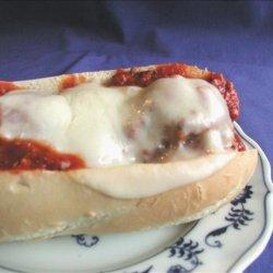 Italian Meatball Subs recipe