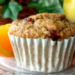 Low-Fat Apple Orange Oat Bran Muffins recipe