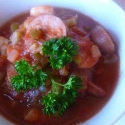 Low Carb Crock Pot Jambalaya recipe