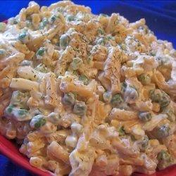 Macaroni and Cheese Pea Salad recipe