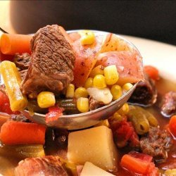 Rick's Vegetable Beef Soup recipe