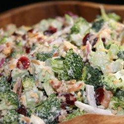 Broccoli and Cranberry Salad recipe