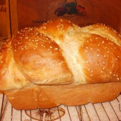 Bread Machine Kneaded Challah recipe