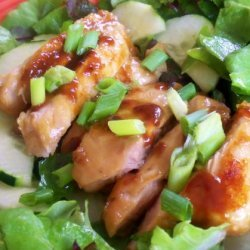 Asian Grilled Chicken Salad recipe