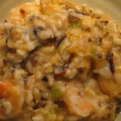 Shrimp and Wild Rice Casserole recipe