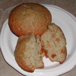 Spiced Peach Muffins recipe
