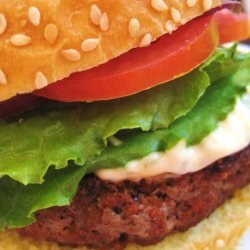 Black and Blue Burgers recipe