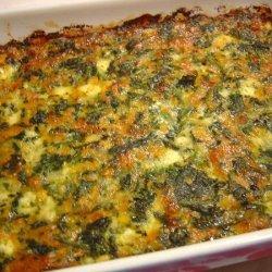Spinach & Cheese Casserole recipe
