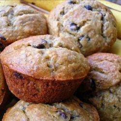 Low Fat Chocolate Chip Banana Muffins recipe