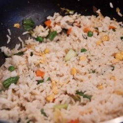 Fried Rice With Bacon (Oriental Style) recipe