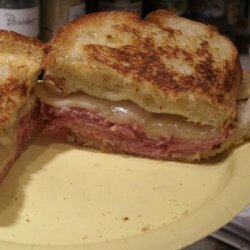Toasted Ham and Cheese Supreme recipe