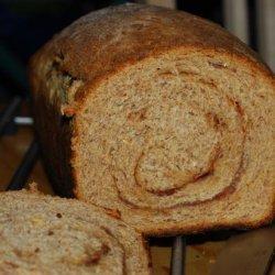 Rustic Wheat Cinnamon Raisin Bread recipe