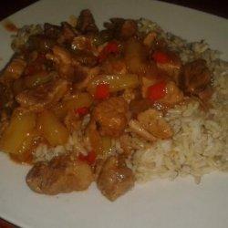 Jamaican Pork Stew recipe