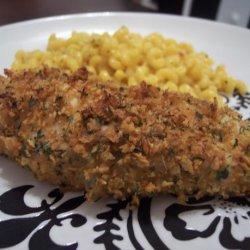 Crunchy Garlic Chicken recipe