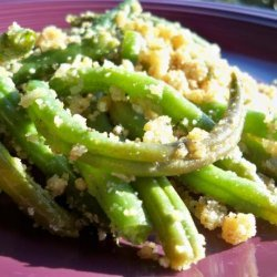 Baked Garlic Green Beans recipe