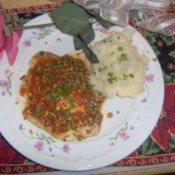 Pan Fried Tilapia With White Wine and Capers recipe