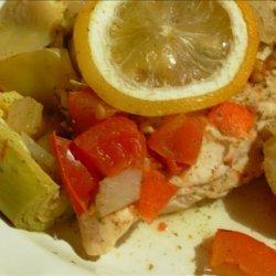 Chicken with Artichokes and Lemon recipe