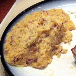 Wasabi Mashed Potatoes recipe