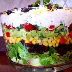 Tex Mex  7  Layer Salad recipe