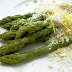 Asparagus With Lemon Butter Crumbs recipe