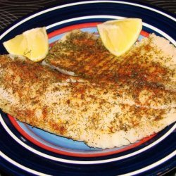 Tilapia With Dill and Paprika recipe
