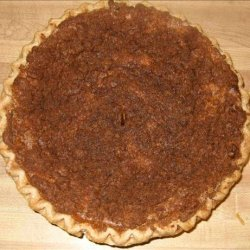 Pumpkin Pie With Streusel  Topping recipe