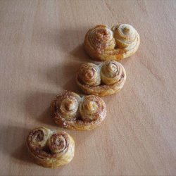 Palmiers (French Puff Pastry Cookies) recipe