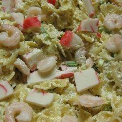 Bow Tie Seafood Salad recipe
