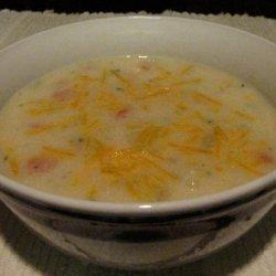 Colorful Potato Soup recipe