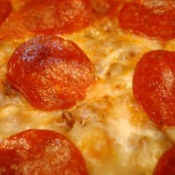 Cheesy, Beefy Noodle Casserole W/Pepperoni recipe
