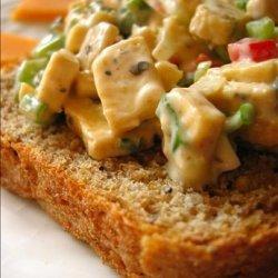 Tofu  Chicken  Salad recipe