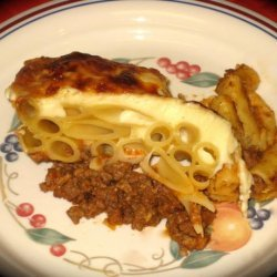 Kittencal's Greek Pastitsio recipe