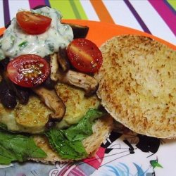 Fish Burgers With a Herb Sauce recipe