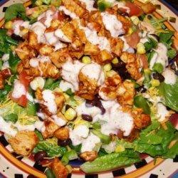 BBQ Ranchero Chicken Salad recipe