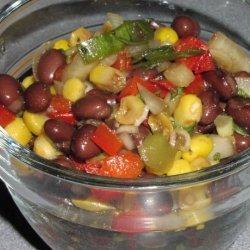 Easy Black Bean and Corn Salad recipe